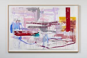 Ashen Terraces by Gretchen Albrecht contemporary artwork