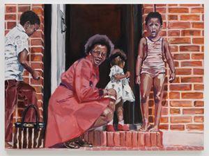 The Expats II (Hampstead Garden Suburb) by Wangari Mathenge contemporary artwork