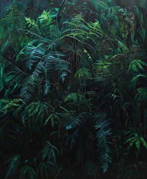 Ferns by Claire Sherman contemporary artwork