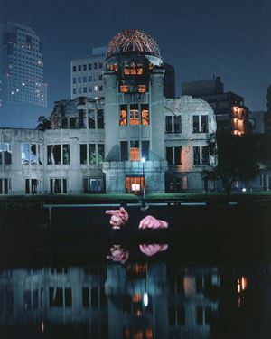 Hiroshima Projection by Krzysztof Wodiczko contemporary artwork