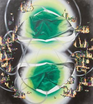 Geoblaze 2 by Vivien Zhang contemporary artwork