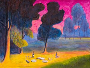 Picknick 1 by Martin Jacobson contemporary artwork