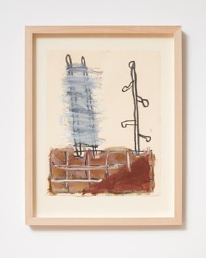Ladder and Step Series #28 by Basil Beattie contemporary artwork