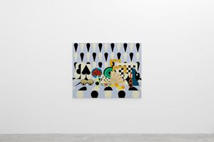 Still Life with Checkers by Farah Atassi contemporary artwork