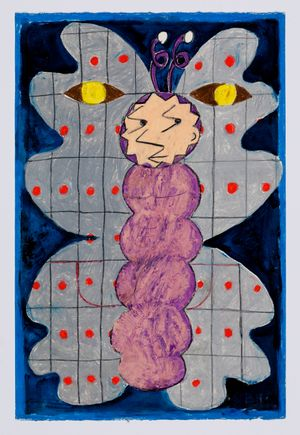 Untitled (moth) #27 by Brendan Huntley contemporary artwork