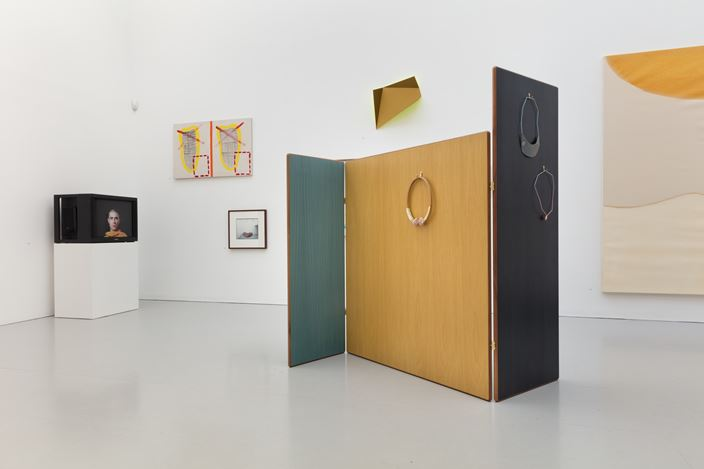 Exhibition view: Group exhibition,Fifteen, Kate MacGarry, London (11 November–16 December 2017). Courtesy Kate MacGarry.