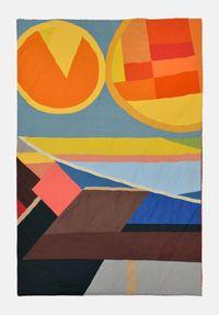 Zusammen/Allein IV by Ulla Von Brandenburg contemporary artwork textile