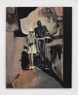Leni Riefenstahl by Noah Davis contemporary artwork