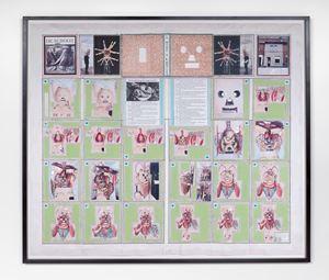 Ruwbouw voor het maken van een boek (De schoot) by Patrick Van Caeckenbergh contemporary artwork