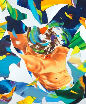 Landfall by Norbert Bisky contemporary artwork