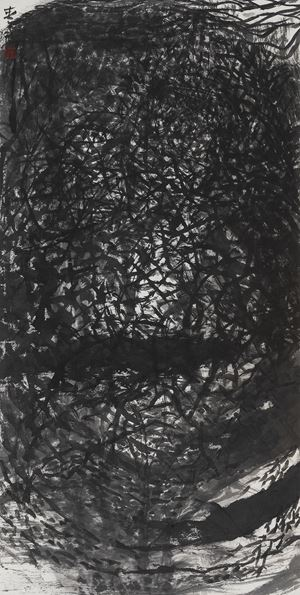 Thoughts of Quietude and Seclusion 幽深思維 by Shen Aiqi contemporary artwork