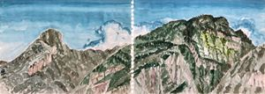Mt. KingKong by Chuan-Chu Lin contemporary artwork