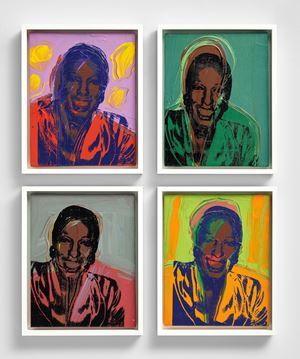 Ladies and Gentlemen (Wilhelmina Ross) by Andy Warhol contemporary artwork