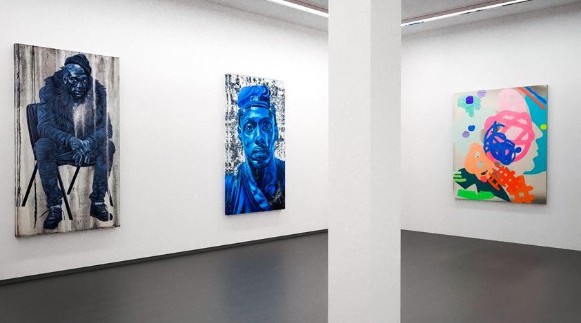 Exhibition view: Group Exhibition, The Figure In Solitude, Kavi Gupta, online exhibition (14–27 April 2020). Courtesy Kavi Gupta.