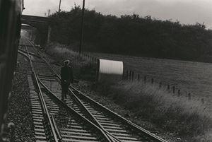 Railway worker by Tsun-shing Cheng contemporary artwork