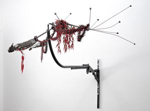 CHILI BULLET BIRD by Tong Kunniao contemporary artwork