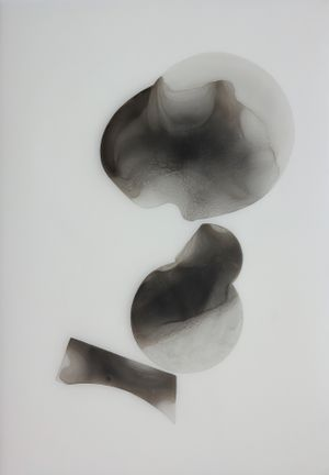 Drawing for Invisible Hand #33 by Sooyeon Hong contemporary artwork