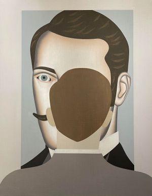 Looking at Alexander by Gavin Hurley contemporary artwork