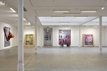 Exhibition view: Marvin Gaye Chetwynd, Ze & Per, Sadie Coles HQ, Kingly St, London (22 February–7 April 2018). © Marvin Gaye Chetwynd. Courtesy Sadie Coles HQ. Photo: Robert Glowacki.