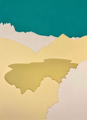 Lake Goygol by Orkhan Huseynov contemporary artwork sculpture