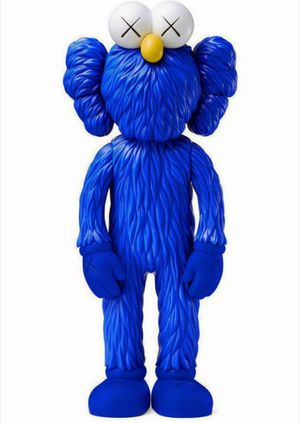 KAWS BFF Blue (KAWS BFF Companion) by KAWS contemporary artwork