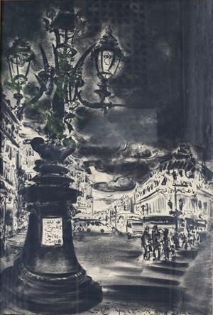 Sudut Paris by Pupuk Daru Purnomo contemporary artwork