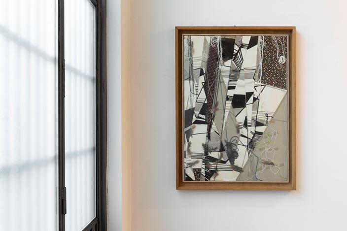 Exhibition view:About Maria Lai, M77, Milan (28 September–7 November 2018). Courtesy M77. Photo: Lorenzo Palmieri.