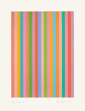 And About by Bridget Riley contemporary artwork