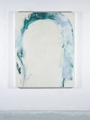 Blue strikes through by Sam Lock contemporary artwork