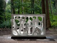 The Burghers by Atelier Van Lieshout contemporary artwork sculpture