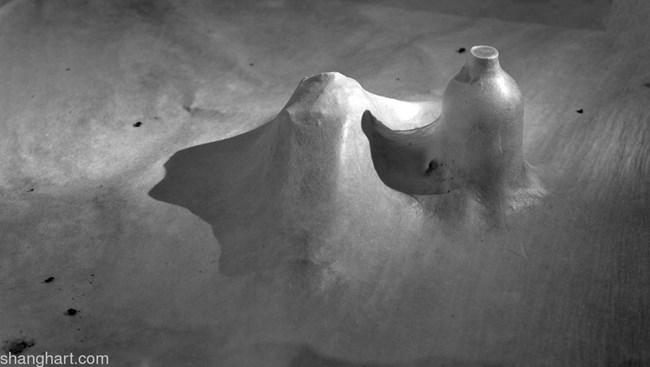 Snow City by Liang Shaoji contemporary artwork