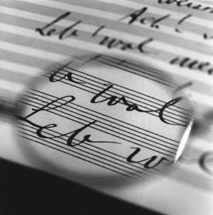 Mahler's Glasses - Viewing his last Symphony No.10 by Tomoko Yoneda contemporary artwork