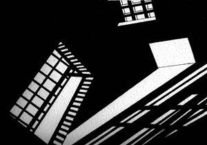 Non-Architectural Renderings no. 1 by Heba Y. Amin contemporary artwork