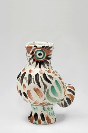 Wood-Owl (Chouette) by Pablo Picasso contemporary artwork