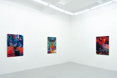 Exhibition view: Zico Albaiquni, Is this parochial or international? Does it really matter?, Yavuz Gallery, Singapore (18 September–2 October 2021). Courtesy Yavuz Gallery.