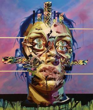 Faith Healer II by Justin Bower contemporary artwork