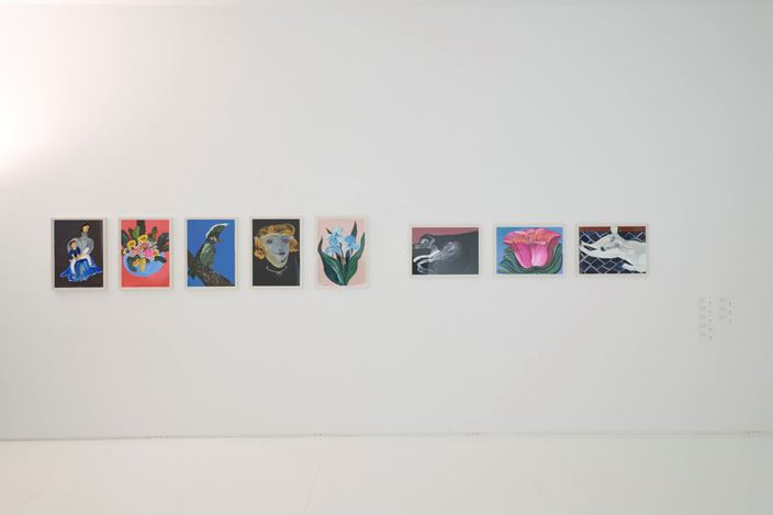 Exhibition view: Group Exhibition, ShugoArts Show, ShugoArts, Tokyo (20 July–7 September 2019). Courtesy ShugoArts. Photo by Shigeo Muto.