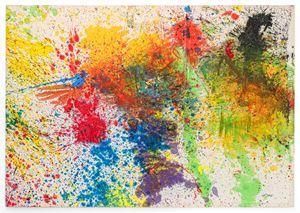 Capri - Certosa 41 by Shozo Shimamoto contemporary artwork
