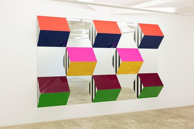 Work II by Daniel Buren contemporary artwork