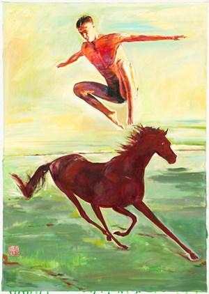 Twilight Run 暮光奔馳 by Fu-sheng Ku contemporary artwork