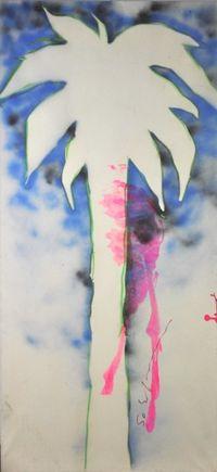 Palm by Mario Schifano contemporary artwork painting