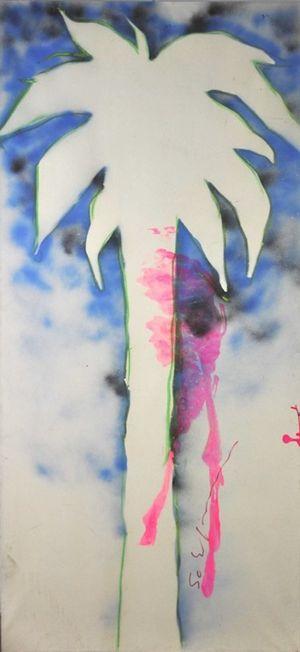 Palm by Mario Schifano contemporary artwork