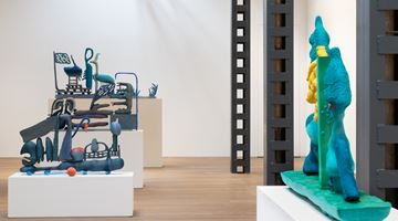 Contemporary art exhibition, Matthew Ronay, Sending and Receiving at Perrotin, Shanghai