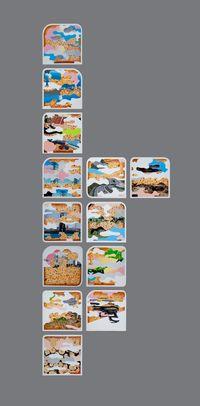 Baker's Dozen 麵包師的十三件 by Thukral & Tagra contemporary artwork painting
