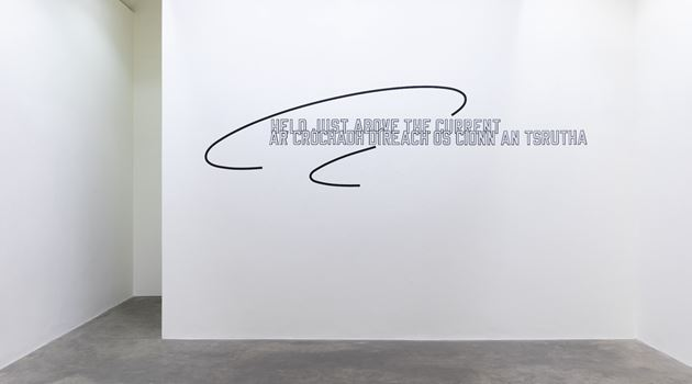 Contemporary art exhibition, Lawrence Weiner, Lawrence Weiner at Kerlin Gallery, Dublin