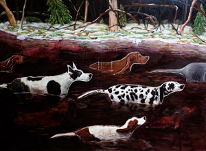 Possibility of an Island / Body Count: 9 by Bree Jonson contemporary artwork