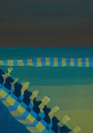Untitled (Horizons) by Ficre Ghebreyesus contemporary artwork