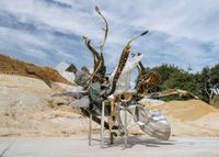 Fizzy's Nebuli by Nancy Rubins contemporary artwork sculpture