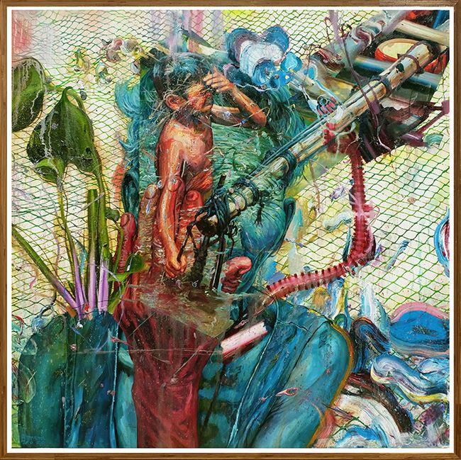 Chieftain by Ronson Culibrina contemporary artwork