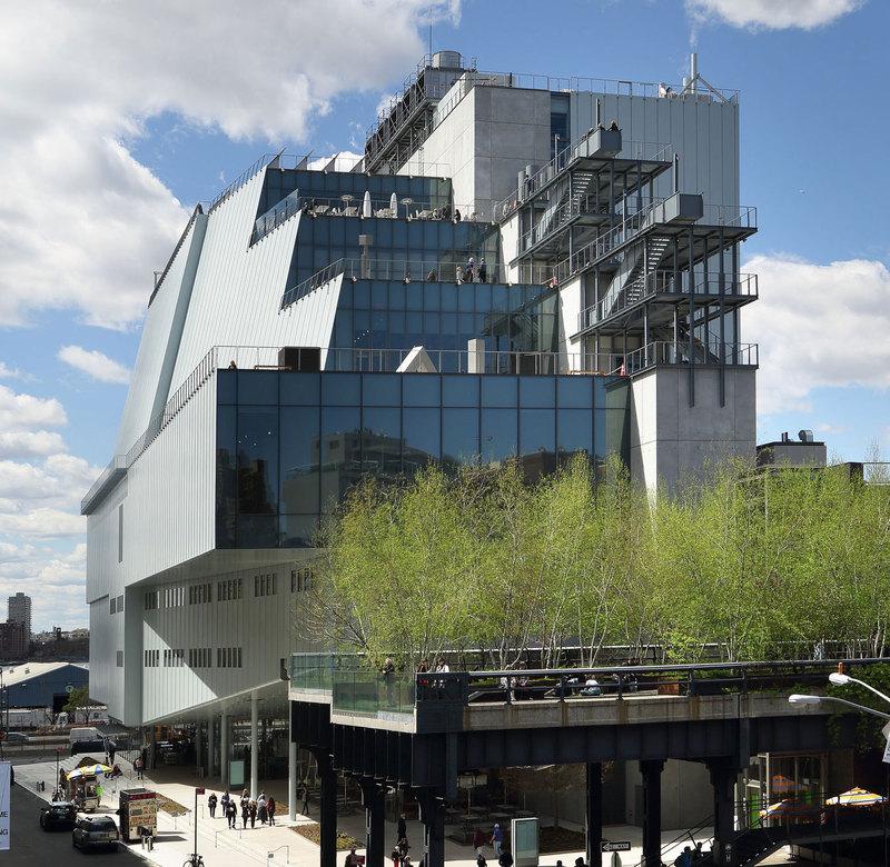 Whitney Museum of American Art. Courtesy Whitney Museum of American Art. Photograph: Ed Lederman.